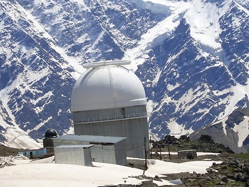 Observatory On The Google Map Mountaineering Trekking And Ski - Mt elbrus map