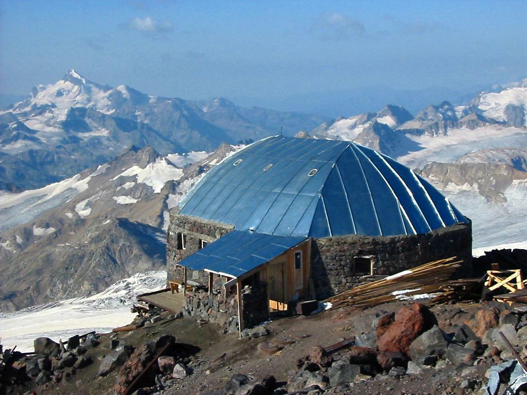 Diesel Hut On The Google Map Mountaineering Trekking And Ski - Mt elbrus map